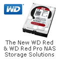 WD Red & WD Red  Pro NAS Storage Solutions