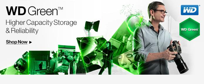 "WD Green 3.5"" Desktop Internal Hard Drives"