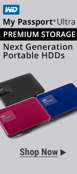 WD My Passport® Ultra Premium Storage