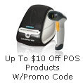 Up to $10 off POS products w/ promo code