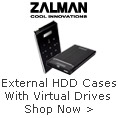 Zalman External HDD Cases With Virtual Drives