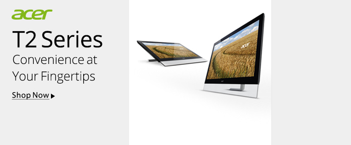 Acer - T2 Series Touch Screen Monitors