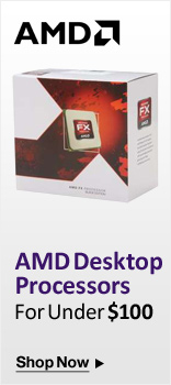 AMD Desktop Processors For Under $100