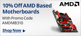 10% Off AMD Based MBs W/ Promo Code