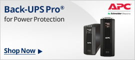 Back-UPS Pro for Power Protection