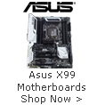 Asus X99 Motherboards