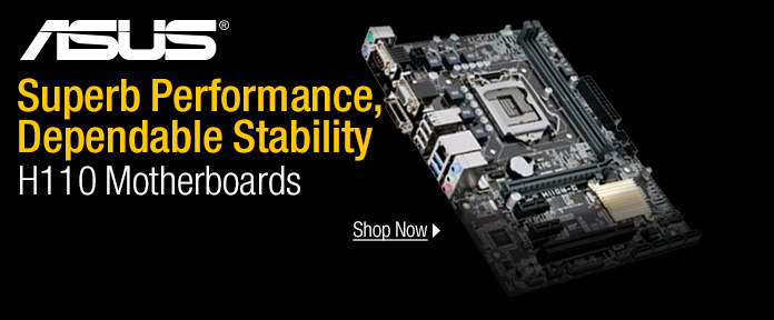 ASUS H110 Motherboards