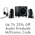 Up To 25% Off Audio Products W/Promo Code