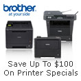 Save up to $100 on printer specials