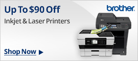 Brother Printers Up To $90 Off