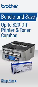 Bundle and Save Up to $20 Off Printer&Toner Combos