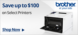 Save up to $100 on select printers