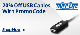 20% Off USB Cables W/ Promo Code