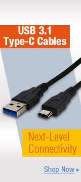 USB 3.1 Type-C Cables