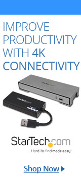 StarTech 4K Connectivity & Docking Stations