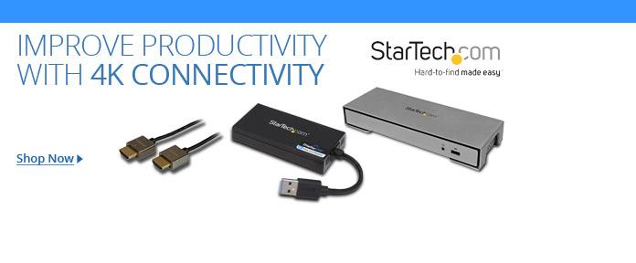 StarTech 4K Connectivity & Docking Stations