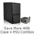 Save More With Case+ PSU Combos