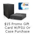 $15 NeweggBusiness Promo Gift Card Select PSU or Case Purchase