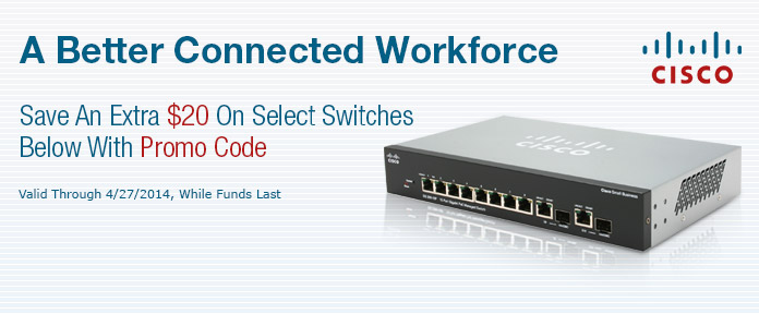 CISCO SMB Switches