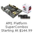 AM1 platform SuperCombos starting at $144.99