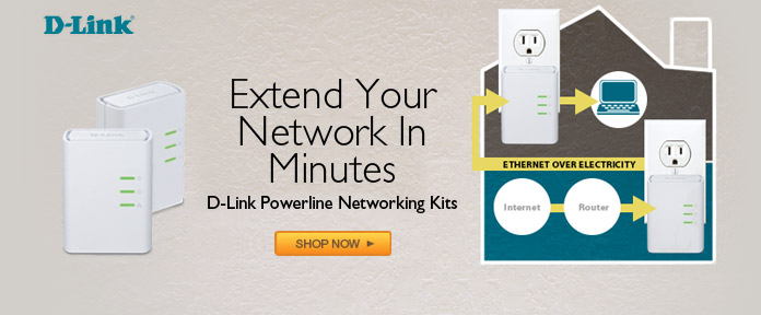 D-Link Powerline Networking Kits