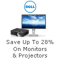Save Up to 28% on Monitors & Projectors
