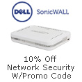 10% off network security w/ promo code
