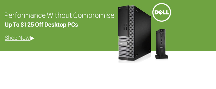 Up To $125 Off Dell Desktops