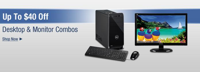 Desktop & Monitor Combos
