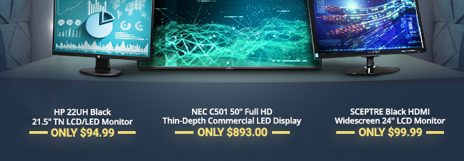 Best-in-class display solutions