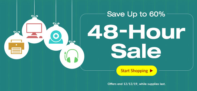 48-Hour Sale: Save Up to 60%