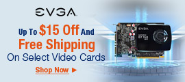 Up To $15 Off And Free Shipping On Select Video Cards