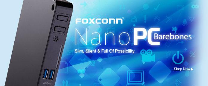 FOXCONN Nano PC Barebones