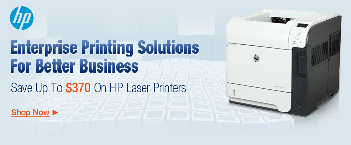 Up to $370 off HP laser printers shop now