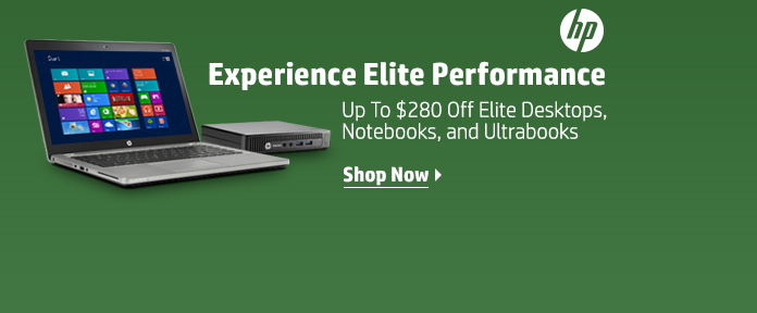 HP Elite Up To $280 Off