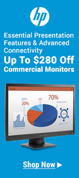 Up to $280 off commercial monitors