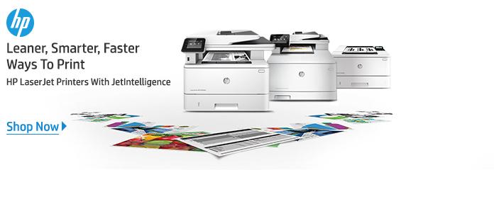 HP LaserJet Printers With JetIntelligence