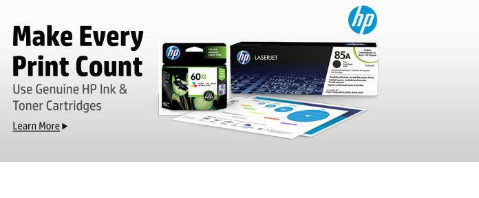 Genuine HP Ink & Toner