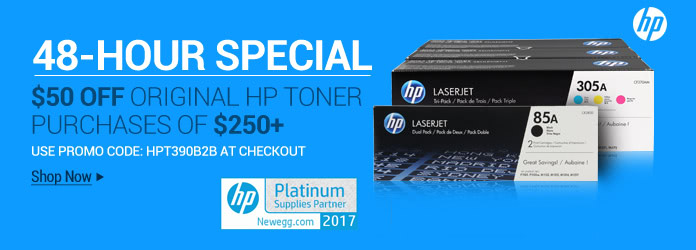 HP Toner 48 Hour Sale