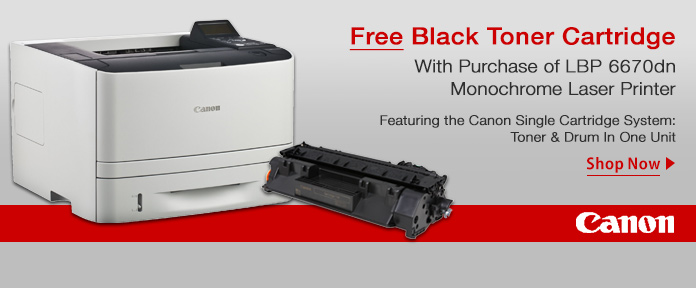 Free Toner with printer purchase