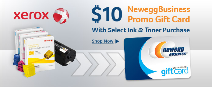 $10 NeweggBusiness Promo Gift Card with Select Ink & Toner Purchase