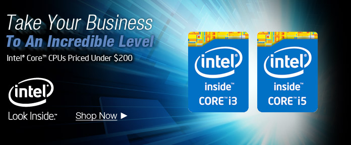 Intel Core CPUs Priced Under $200