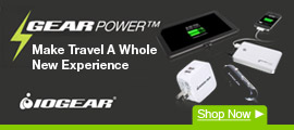 GearPower™ IOGEAR Devices