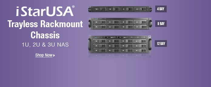 iStarUSA Trayless Rackmount Chassis