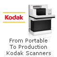 From Portable To Production Kodak Scanners