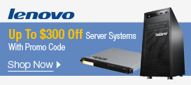 Up to $300 off Server Systems with Promo Code