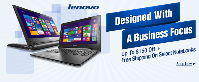 Lenovo ThinkPad And Flex 2 Touchscreen Notebooks Up To $150 Off