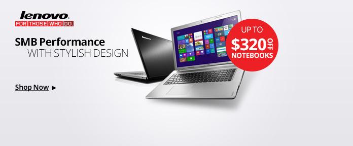 Lenovo Notebooks $320