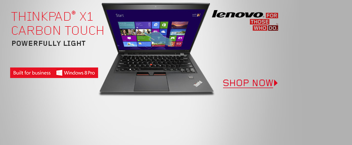 Lenovo ThinkPad® X1 Carbon Touch