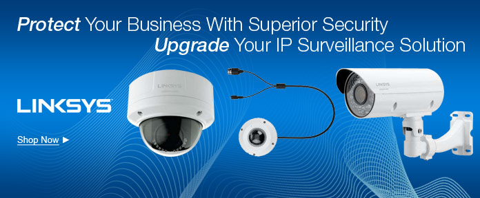 Upgrade your IP Surveillance solution